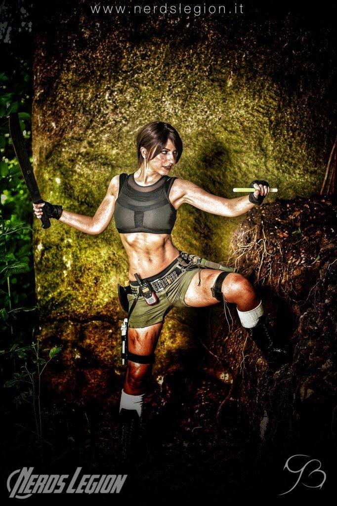 Shooting fotografico Tomb Raider presso Cava di marmo
