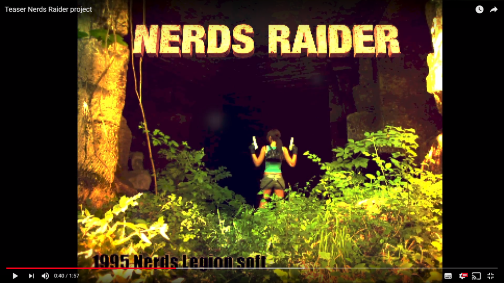 Teaser Nerds Raider project