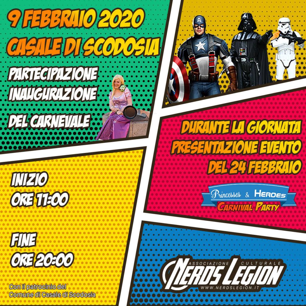 Nerds Legion al Carnevale del Veneto